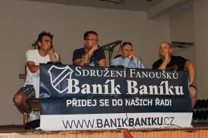 Beseda vedení FC Baník Ostrava s fanoušky
